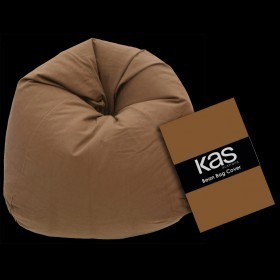 Canvas Beanbag Cover Chocolate