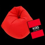 Canvas Beanbag Cover Red