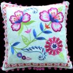 Layla Medalion Pink Cushion
