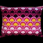 Graphic Paisley Rectangular Cushion