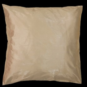 Metallic Silk Cushion Cream