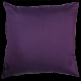 Empire Silk Cushion Purple