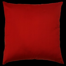 Empire Silk Cushion Red