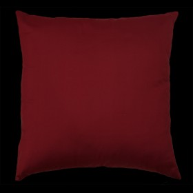 Empire Silk Cushion Rich Red
