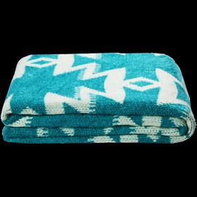 Azaki Throw Teal
